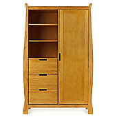 OBaby Lincoln Double Wardrobe (Country Pine)