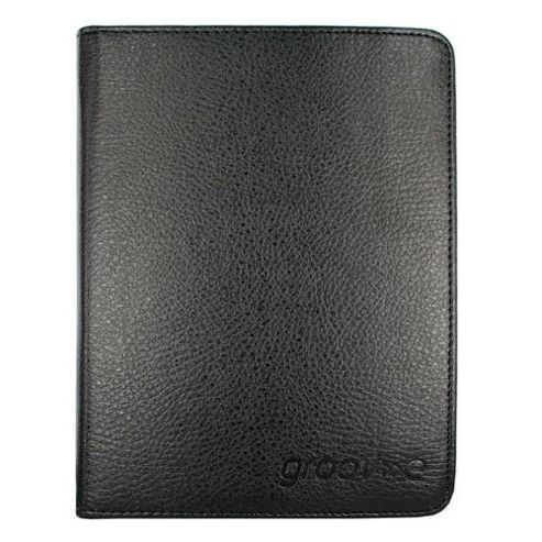 PU Leather Wallet Case for Kindle4/Kindle Touch - Black