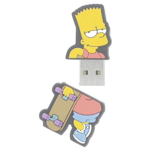 Integral Bart Simpson USB Flash Drive 8GB