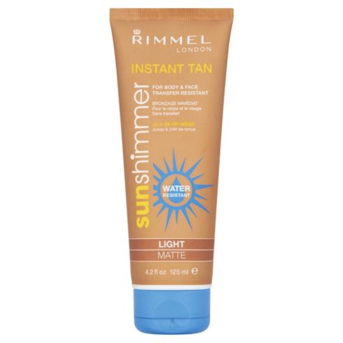Sun Shim Wtr Insresistant Tan M/up Lght 125ml