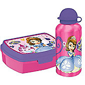 Sofia the First Gift Set Lunch Box and Flask