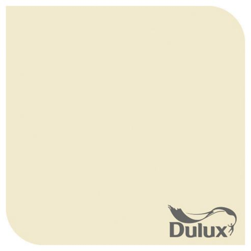 Dulux Silk Emulsion Paint, Daffodil White, 2.5L