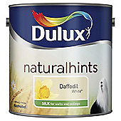 Dulux Silk Emulsion Paint, Daffodil White, 2.5L