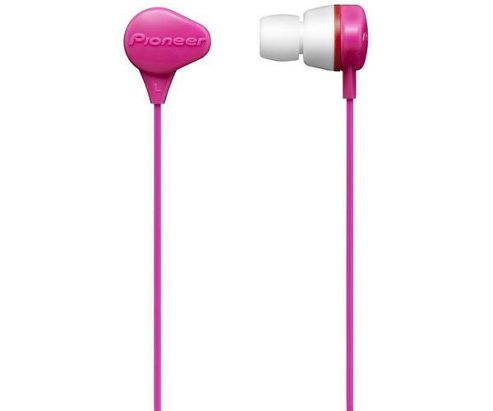 Pioneer SE-CL331-P Fully-Enclosed Dynamic Headphones - Pink
