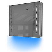 Ambient Audio Demist Bathroom Cabinet With Bluetooth, Shaver & Sensor K65Baud