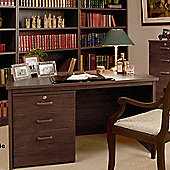 Enduro Home Office Rectangular Desk - Teak