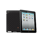 Cygnett SecondSkin Ink Silicone Skin with Pattern Case for iPad 2 - Black