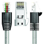 Ultra Highspeed ADSL Broadband Modem RJ11 Cable Lead 5M