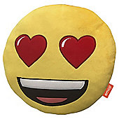 Emoji Heart Eyes Cushion