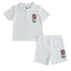 England RFU Rugby Kit T-Shirt & Shorts - 2015/16