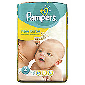 Pampers New Baby Size 2 Essential Pack - 56 nappies