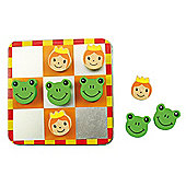 Bigjigs Toys Noughts and Crosses (Princess and Frog)