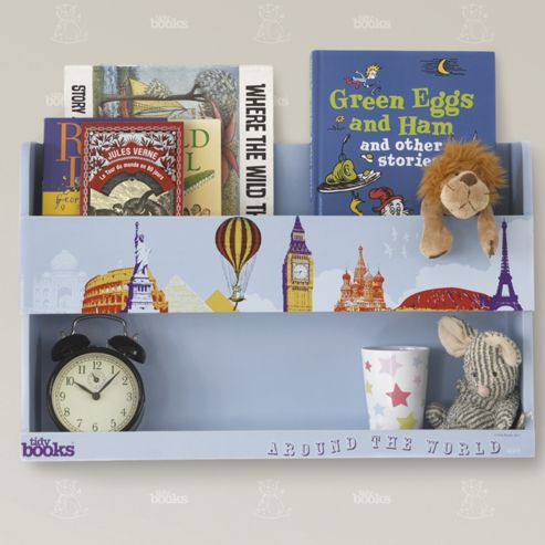 Tidy Books The Tidy Books Bunk Bed Shelf (Around The World)