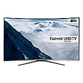 Samsung UE43KU6500 43 inch, Smart, Built in Wi-Fi, Full HD, 2160P, LED TV, with Freeview HD, in Silver