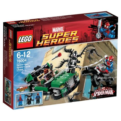 LEGO Super Heroes Spider-Man: Spider-Cycle Chase 76004