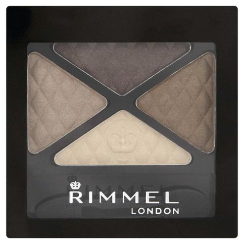 Rimmel Glam'Eyes Quad Eyeshadow Smokey Brun