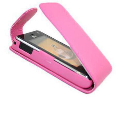 Pink FlipMatic Easy Clip On Vertical Pouch Case - LG KU990 Viewty