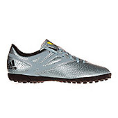 adidas Messi 15.4 TF Astro Turf Junior Kids Football Soccer Trainer Shoe - Blue