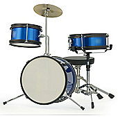 Rocket 3 Piece Junior Drum Kit - Blue
