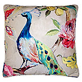 Peacock Complete Cushion - 60cm/24""