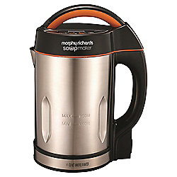 Morphy Richards Soup Maker, 48822, 1.6L - Stainless Steel