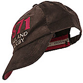RFU Official England Rugby Union Corduroy Fashion Baseball Cap