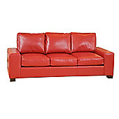 Sofa Collection Montada Sofa - 3 Seat Sofabed - Red