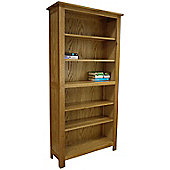 Oakland Chunky Tall Wide Oak Bookcase