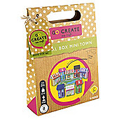 Go Create Eco Craft Cereal Box Mini Town