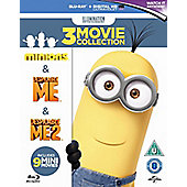 Minions Collection -Despicable Me/Despicable Me 2/Minions - Blu-ray