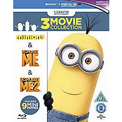 Minions Collection -Despicable Me/Despicable Me 2/Minions - Blu-ray