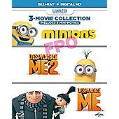 Despicable Me/ Despicable Me 2/ Minions Blu-ray