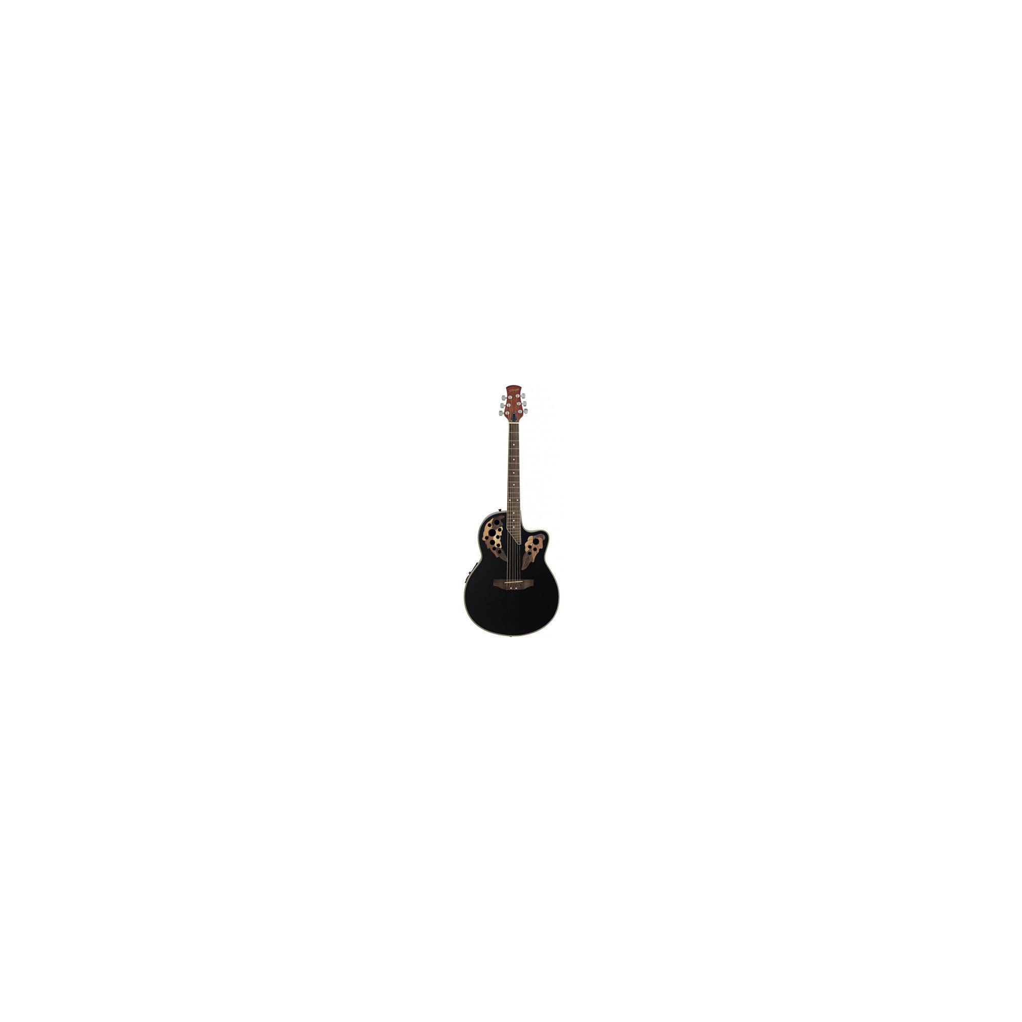 Rocket A2006 Shallow Cutaway Electro Acoustic Black
