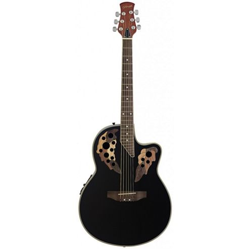 Rocket A2006 Shallow Cutaway Electro Acoustic - Black