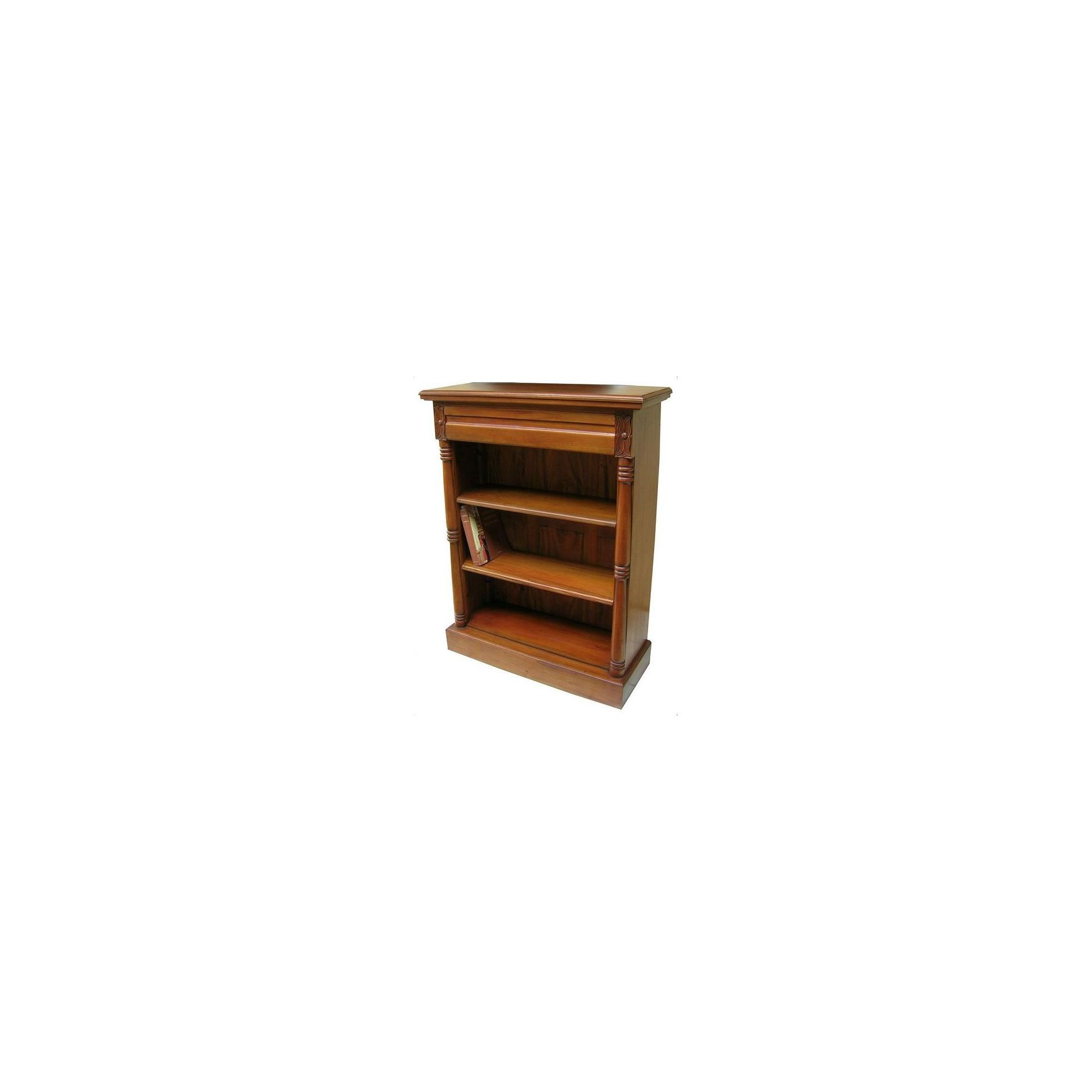 Lock stock and barrel Mahogany Victorian Bookcase in Mahogany at Tesco Direct