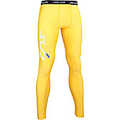 Subsports Cold Thermal Legging Adult - Yellow