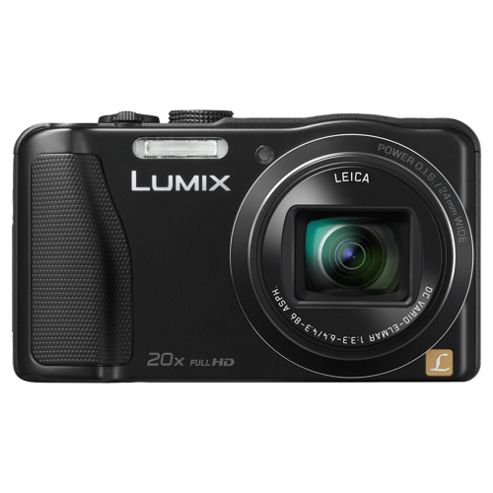Panasonic Lumix Digital Camera TZ35 Black 20x Optical Zoom 16MP