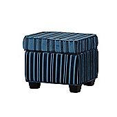 Sofa Collection Elvira Footstool - Blue