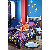 Catherine Lansfield Home Kids Outer Space Single Bed Quiltset Multi