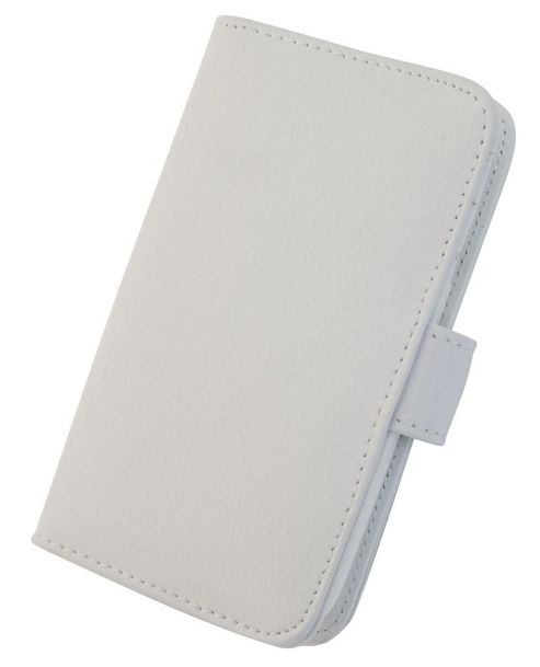 Tortoise™ Genuine Leather Folio Case Samsung Galaxy SIII White