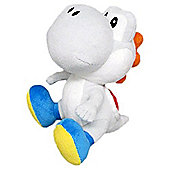 "Official Nintendo Super Mario Plush Series Stuffed Toy - 6"" White Yoshi"