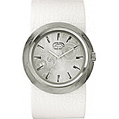 Marc Ecko Gents Eero White Rubber Strap Watch E11534G2