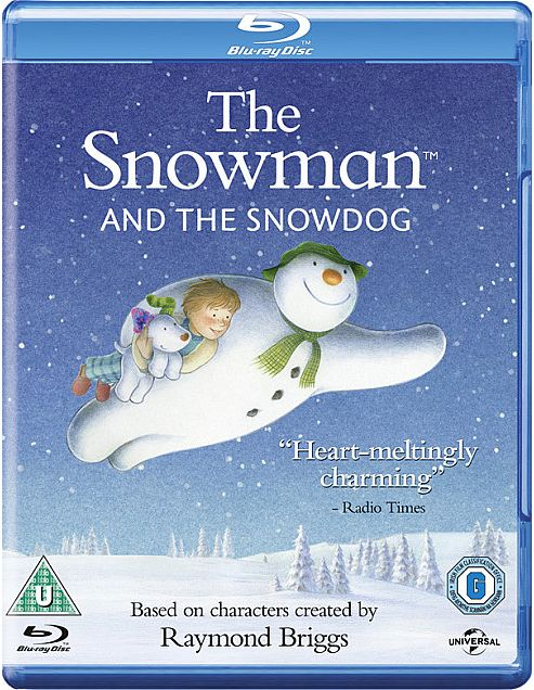 Snowman & The Snow Dog Blu-Ray