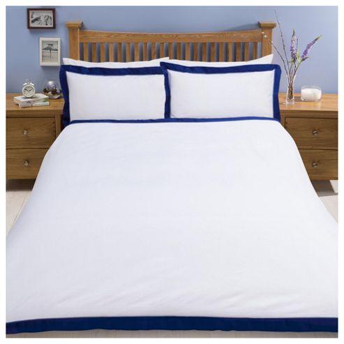 buy tesco oxford edge duvet set from our super king. Black Bedroom Furniture Sets. Home Design Ideas