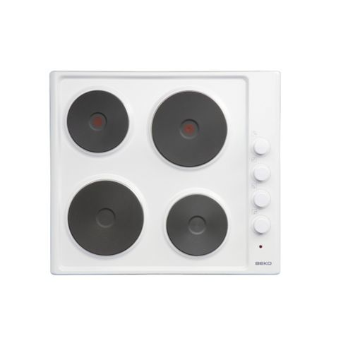 HIZE64101W 4 Burner Built in Electric Oven in White