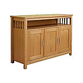 ValuFurniture Ashford 3 Door Sideboard - Ash Veneer