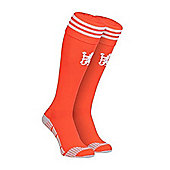 2014-15 Chelsea Adidas Home Goalkeeper Socks (Orange) - Red