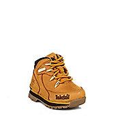 Timberland Infant Wheat Euro Rock Hiker Boots - Yellow