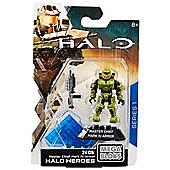 Mega Bloks Halo Heroes Master Chief Mark IV Armor Figure