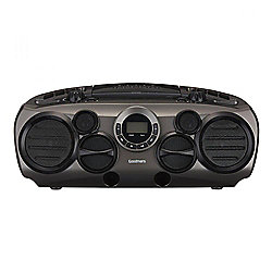 Goodmans GPS04LK High Powered CD Boombox 10watts with 6 Speaker System
